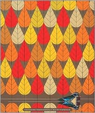 Charley Harper: Octoberama Mouse Pad - Created by Pomegranate Communications Inc