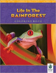 Life in the Rainforest Coloring Book - Michael Turco