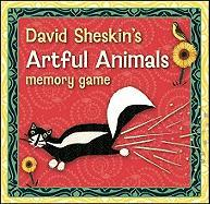 David Sheskin's Artful Animals Memory Game [With Booklet]