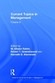 Current Topics in Management - M. Afzalur Rahim; Robert T. Golembiewski; Kenneth D. Mackenzie