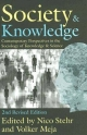 Society and Knowledge - Nico Stehr; Volker Meja