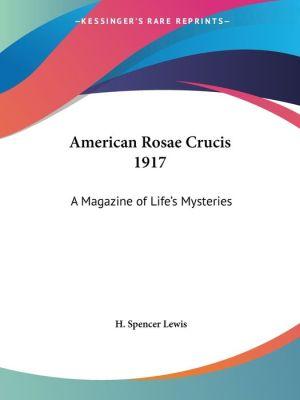American Rosae Crucis 1917