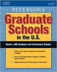 Graduate Schools in the U.S. 2007