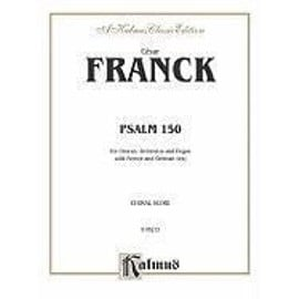 Psalm 150: Satb (Orch.) (French, German Language Edition)
