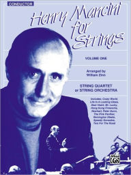 Henry Mancini for Strings, Vol 1: Conductor, Score - Henry Mancini