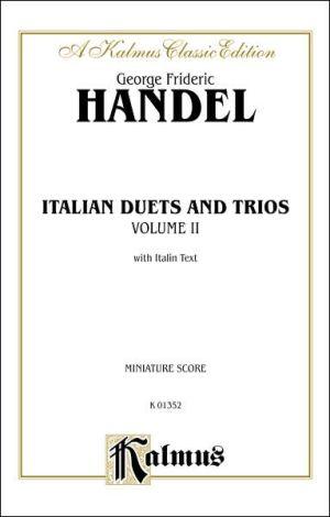 Italian Duets and Trios: Second Edition (Miniature Score), Miniature Score - George Frideric Handel
