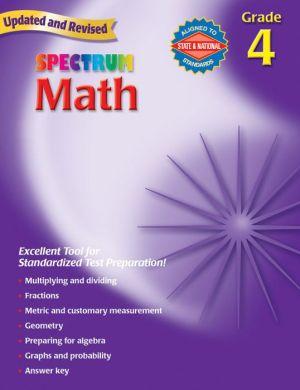 Spectrum Math, Grade 4 - School Specialty Publishing