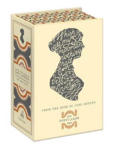 From The Desk Of Jane Austen, 100 Postcards