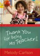 Thank You for Being My Teacher!