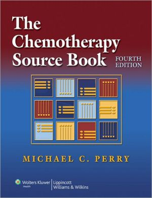 The Chemotherapy Source Book - Michael C. Perry (Editor)