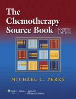 The Chemotherapy Source Book