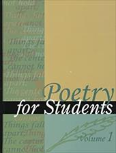 Poetry for Students - Gale Group / Napierkowski, Marie Rose