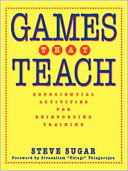 Games That Teach: Experiential Activities for Reinforcing Training - Steve Sugar