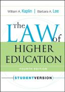 The Law of Higher Education