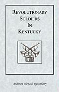Revolutionary Soldiers in Kentucky