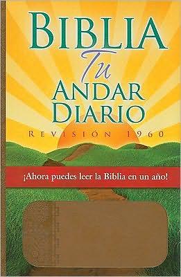 Biblia Tu Andar Diario-Piel Especial-Almendra - Manufactured by Editorial Unilit