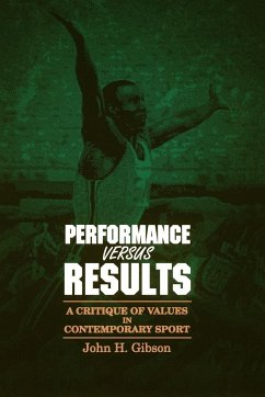 Performance Versus Results - Gibson, John H.