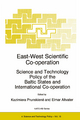 East-West Scientific Co-operation - Kazimiera Prunskiene; Elmar Altvater