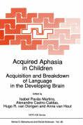 Acquired Aphasia in Children