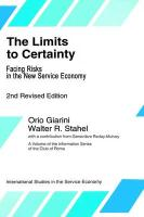 The Limits to Certainty