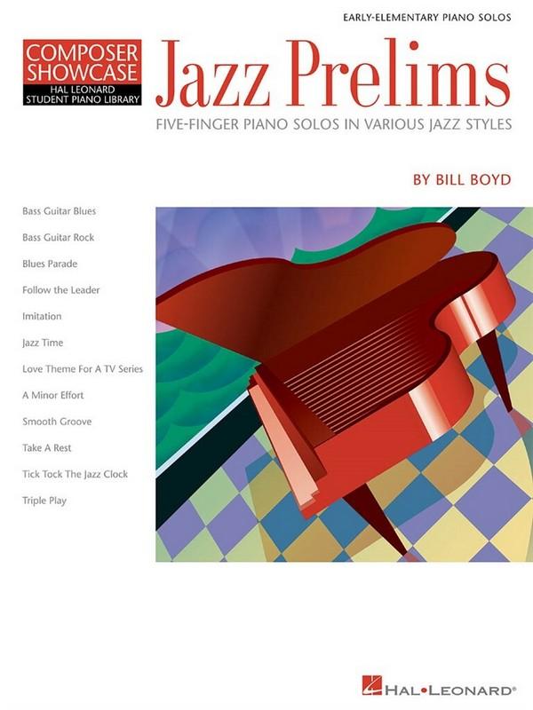 Jazz Prelims : for 5-finger piano solos - 033325