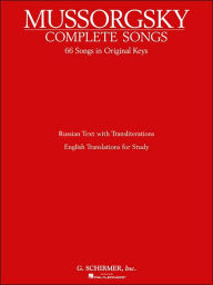 Complete Songs: Voice and Piano - Modest Mussorgsky