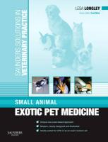 Small Animal Exotic Pet Medicine
