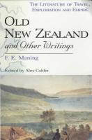 Old New Zealand and Other Writings