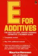 E for Additives