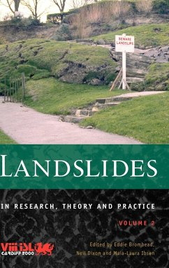 Landslides in Research, Theory and Practice, Volume 2 - Herausgeber: Bromhead, Eddie Ibsen, Maia-Laura Dixon, Neil