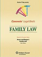 Family Law: Keyed to Courses Using Areen and Regan's Family Law, Fifth Edition