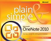Microsoft OneNote 2010 Plain & Simple - Weverka, Peter