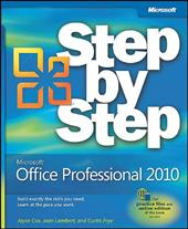 Microsoft Office Professional 2010: Step by Step - Cox, Joyce / Lambert, Joan / Frye, Curtis