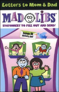 Letters to Mom & Dad Mad Libs - Roger Price