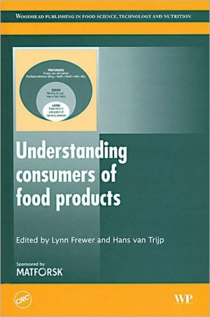 Understanding consumers of food products