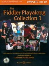 The Fiddler Play-Along Collection - Volume 1: Violin Music from Around the World - Jones, Edward Huws / Hal Leonard Publishing Corporation