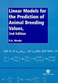 Linear Models for the Prediction of Animal Breeding Values - R. Mrode