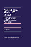 Marshall, P: Austenitic Stainless Steels