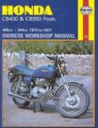 Honda Cb400 and CB 550 Fours Owners Workshop Manual, No. M262: 73 Thru '77