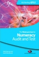 Minimum Core for Numeracy: Audit and Test - Mark Patmore;  Sarah Woodhouse