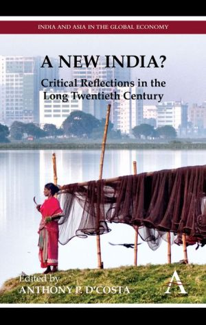 A New India? - Anthony P. D'Costa (Editor), Foreword by Deepak Nayyar