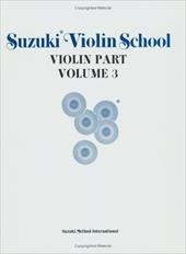 Suzuki Violin School, Vol 3: Violin Part - Suzuki, Shinichi / Alfred Publishing