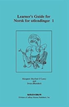 Learner's Guide for Norsk for Utlendinger 1 - O'Leary, Margaret Hayford Oksenholt, Svein