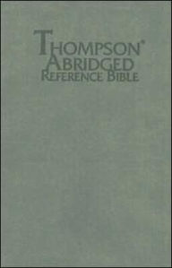 Thompson Abridged Reference Bible-KJV - Kirkbride Bible Company