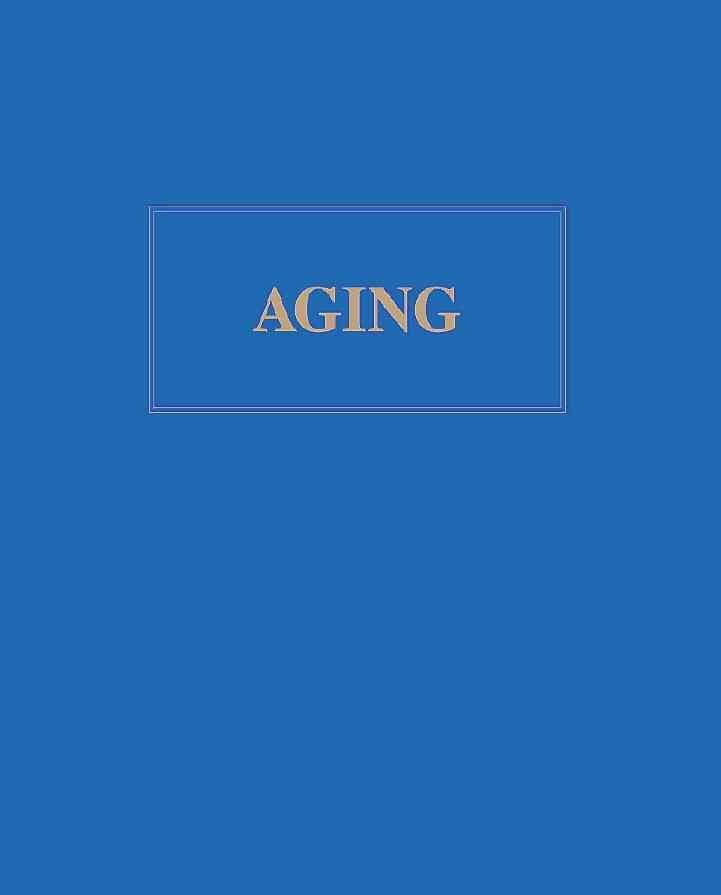 Aging - Tracy Irons-Georges