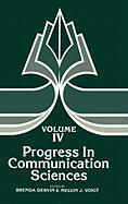Progress in Communication Sciences, Volume 4