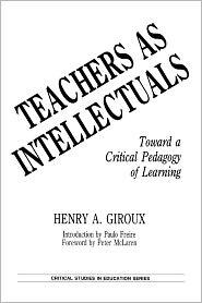 Teachers As Intellectuals - Henry Giroux