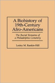 Biohistory Of 19th-Century Afro-Americans