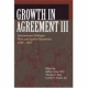 Growth in Agreement III - Jeffrey Gros; Thomas F. Best; Lorelei F. Fuchs