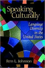 Speaking Culturally - Fern L. Johnson